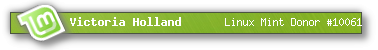 Linux Mint donor banner
